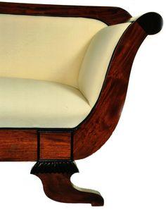 Sofá estilo Biedermeier