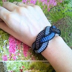 ... Go For It, Diy Blog, Bracelets, Instagram Posts, Jewelry, Challenge, Homemade, Wristlets, Handarbeit