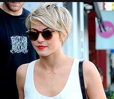 Julianne Hough short hair cut