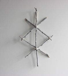 Protection . Wall hanging viking rune with by BoudoirDuChaman
