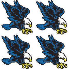 Blue Eagle Temporary Tattoos.