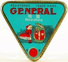 Gramophone Needle Tins