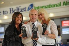30 Oct 2013 - High five for airlines at Belfast International! United Airlines, Jet2.com and Topflight are flying high after awards win! http://www.belfastairport.com/en/news/1/287/high-five-for-airlines-at-belfast-international.html #topflight #united #jet2 #awards #travel #news #belfast #airport #belfastinternational #belfastinternationalairport #bia #flying #plane #holiday #trip #vacation