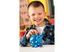 Ceramic Piggy Bank to decorate and help save your money