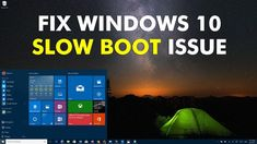 Learn How To Fix The Windows 10 Slow Boot IssueL We are going to show 4 easy methods that will help you fix the windows 10 slow boot issue Life Hacks Computer, Slow Computer, Computer Basics, Computer Help, Computer Science, Computer Tips, Computer Repair, Windows 10 Hacks, Android