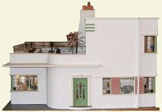 art deco doll house