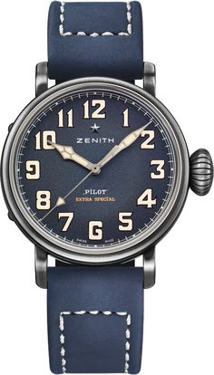 La Cote des Montres : La montre Zenith Pilot Type 20 Extra Special 40 mm - Vintage version Tendance