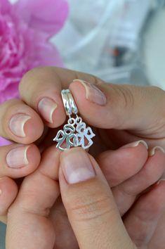 Angel Earrings Mom-to-be Earrings Silver Angel Tiny Earrings Silver Earrings Guardian Angel Earrings Girl Angel Earrings Dainty Earrings