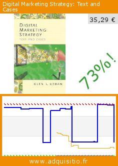 Digital Marketing Strategy: Text and Cases (Broché). Réduction de 73%! Prix actuel 35,29 €, l'ancien prix était de 128,49 €. http://www.adquisitio.fr/prentice-hall/digital-marketing