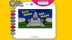 Check out this video about how the government makes coins. It is perfect for both teachers and parents. Kids Sites, Search People, People Change, Parent Resources, Us Coins, Educational Games, Games For Kids, Teaching Kids, Cool Kids