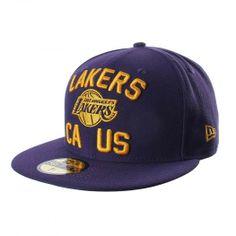 La gorra 5950 NBA Los Angeles Lakers de New Era está diseñada para que  apoyes a 28cac78f727