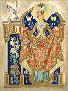 QUEEN OF SPRING, by J.C. Leyendecker,The Saturday Evening Post, May 23, 1931. © Curtis Publishing, Inc. The original oil on canvas is part of the Haggin Museum, Stockton, CA's extensive Leyendecker collection.