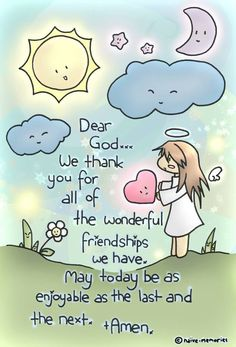 Thank you for the wonderful friendships...