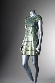 Paco Rabanne couture, circa 1968-70