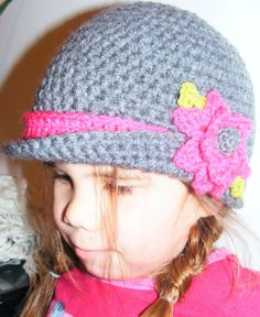 Pattern Only  Little Lady Hat  Pattern includes all by Pukado, €3.95