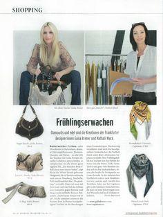Journal Frankfurt did a special about Frankfurt designers.