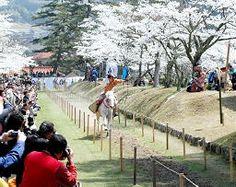 山陰中央新報 - (71)鷲原八幡宮流鏑馬馬場(津和野) #Tsuwano Yabusame