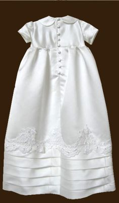 Turning wedding dress into a christening gown