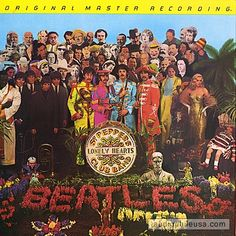 MFSL-1-100 – SGT. PEPPER'S LONELY HEARTS CLUB BAND - The Beatles