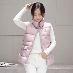f0bfe3a1b06 New 2017 autumn and winter women cotton vest white duck down soft warm  waistcoat plus size 3XL female outwear brand vest coat