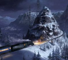 One of my favorite stories ever. The Polar Express