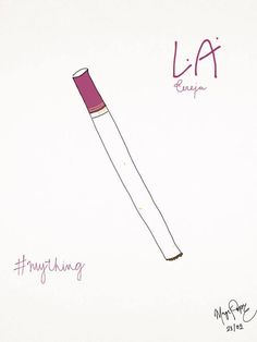 Cherry L.A cigarrettes are my thing, what's yours? - 21/02 '16
