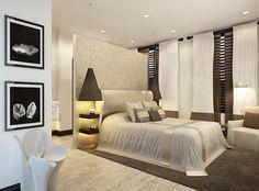 «Barkli Virgin House» - Interiors Kelly Hoppen. Examples of residential areas: living room, kitchen bedroom.