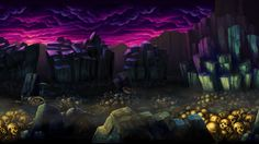 Odin Sphere 2d Game Background, Background Images, Game Environment, Environment Concept, Odin Sphere, Dragons Crown, Environmental Art, Game Art, Tabletop