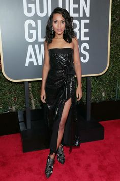 Kerry Washington in Prabal Gurung (Golden Globes '18)