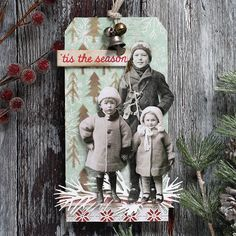 25 Days of Christmas Tags Event with Shari Carroll