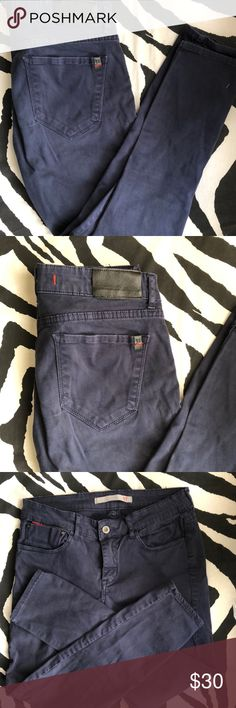 Skinny navy blue pants Corinne and spandex, very soft, cool navy color Pants Skinny