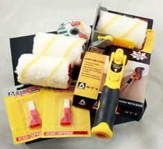 Accubrush XT Paint Edger Jumbo Kit with Video (Misc. Painting Edges, Painting Tips, Paint Edger, Rustic Pendant Lighting, Ultimate Garage, Birthday Wishes For Myself, White Pendant Light, Painted Trays, Beaded Chandelier