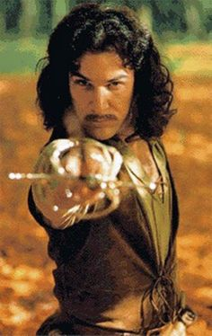 Hallo, my name is Inigo Montoya. You killed my father, prepare to die.  I read somewhere once that this was Mandy Patinkin's favorite role.