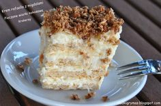 Ciasto rafaello na krakersach Food Cakes, Vanilla Cake, Macaroni And Cheese, Cake Recipes, Bread, Ethnic Recipes, Pastries, Cakes, Mac And Cheese