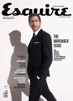 Jake Gyllenhaal on a photoshoot for the movie «Prince of Persia: The Sands of Time Cool Magazine, Book And Magazine, Editorial Layout, Editorial Design, Magazin Covers, Brochure Layout, Magazine Cover Design, Magazine Editorial, Jake Gyllenhaal