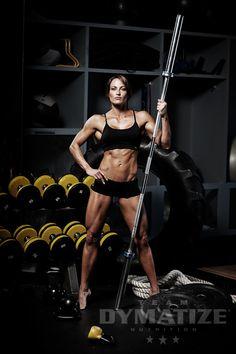 IFBB Figure Pro Erin Stern for Dymatize Nutrition