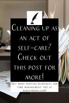 Cleaning up is one of the best ways to take care of yourself. If you're in need of some #selfcare, check out these self-care spring cleaning tips. #intentional #livingintentionally Pre Writing, Writing Tips, I Need A Nap, Time Management Strategies, Mindfulness Activities, How To Stop Procrastinating, Morning Person, Hard To Get, How To Wake Up Early