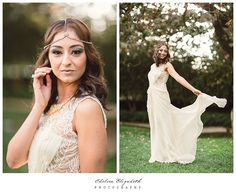 My vision of a Persian princess come to life. :) Headpiece, gown, shoes, and overall design inspiration by @BHLDN Weddings Weddings | Westlake Village wedding | Chelsea Elizabeth