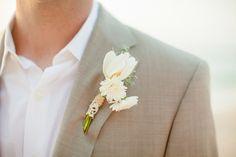 Puerto Vallarta Wedding by Amanda Wilcher Photographers Beach Wedding Boutonniere, Beach Wedding Groom, Foto Wedding, Beige Wedding, Wedding Suits, Wedding Colors, Dream Wedding, Destination Wedding, Beach Weddings