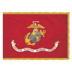 gold fringe american flag