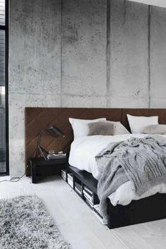 Tips to Enhance Bedroom Interior Design - Home Decoration Apartment Interior Design, Decor Interior Design, Interior Decorating, Decorating Ideas, Master Bedroom Layout, Bedroom Layouts, Minimalist Apartment, Minimalist Bedroom, Modern Bedroom Design