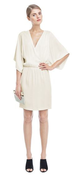 Satin Wrap Dress - New Arrivals - Shop Woman - Filippa K