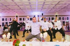Guests at Canditta and John's wedding performed the traditional Maori war dance, The Haka. #EasyWeddings #weddings #TheHaka #Maori   Image: Van Middleton Photography