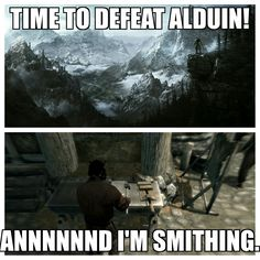 #Skyrim - it happens every time