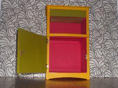 Vintage bedside cabinet restored by VintageBe1 on Etsy