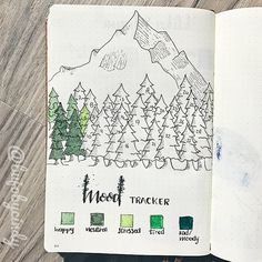 Mood Tracker in Bullet journal