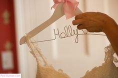 Wedding - bridal hanger
