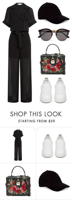 """Sem título #1913"" by dani-gracik ❤ liked on Polyvore featuring Alexander Wang, Golden Goose, Dolce&Gabbana, Le Amonie and Illesteva"