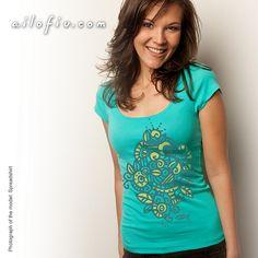 """Pattern"" T-shirt - by ailofiu tees"