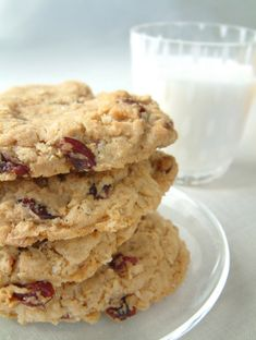 Homemade toddler & baby food recipes: Soft cranberry banana cookies